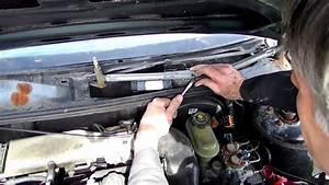 Windshield Wiper Motor Removal