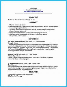 writing your athletic training resume carefully With training officer job description template