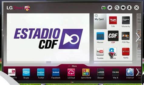 Descargar Estadio CDF en Smart TV 【Samsung & LG】 Ayuda