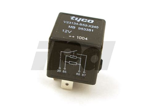 volvo rear defroster fan relay