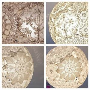 78 best images about doily lanterns on pinterest paper With doily paper floor lamp