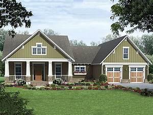 Craftsman, Style, House, Plan, Ft