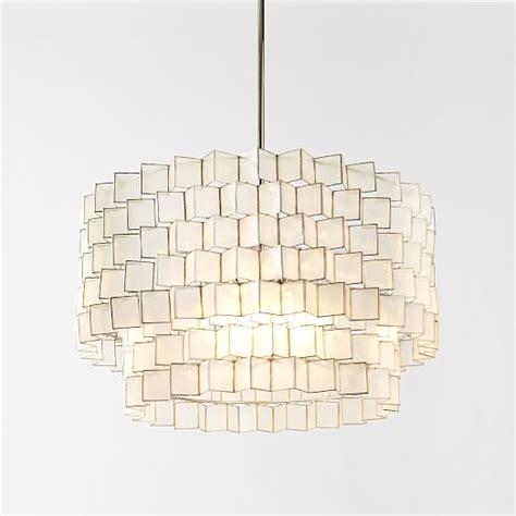 west elm capiz chandelier capiz zigzag chandelier west elm