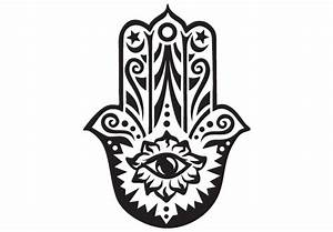 Hamsa Wall Decal - Vinyl Decor Fatima Mary Miriam