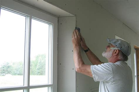 trimming windows   deep wall jlc