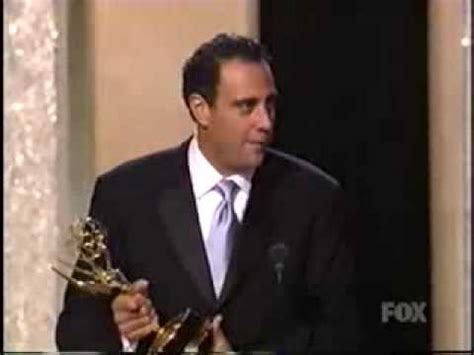 Brad Garrett wins 2003 Emmy Award for Supporting Actor in ...