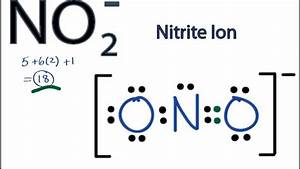 NO2- Lewis Structure: How to Draw the Lewis Structure for ...