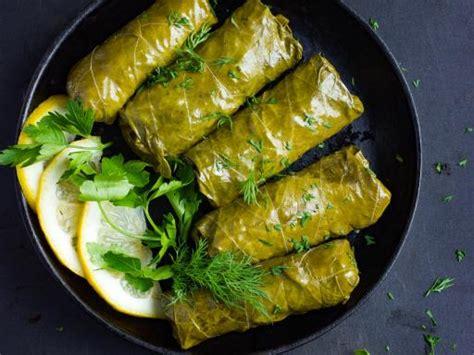 table de cuisine le bon coin photo de recette dolmas feuilles de vigne farçies au riz