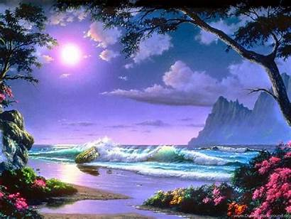 Places Amazing Nature Wallpapers Mist Desktop Background