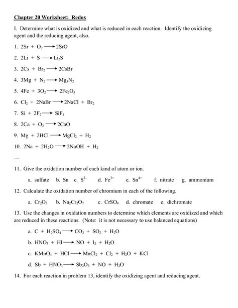single replacement reaction worksheet answers the best