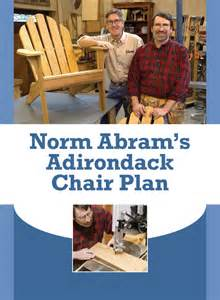 pdf diy adirondack chair plans norm abram download