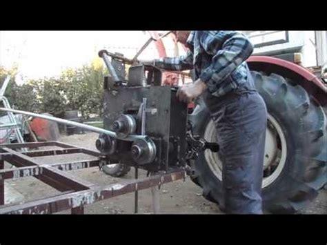 rohrbiegemaschine selber bauen biegeger 228 t rohrbieger rohrspirale selber bauen