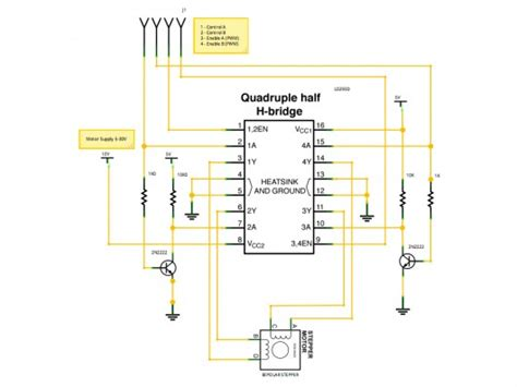 Stepper Motor Circuit Page Automation Circuits Next