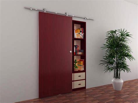 Modern Barn Doors by 6 6 Ft Modern Stainless Steel Interior Sliding Barn Wood