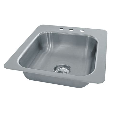 advance tabco sink accessories advance tabco ss 1 2321 10 1 compartment drop in sink