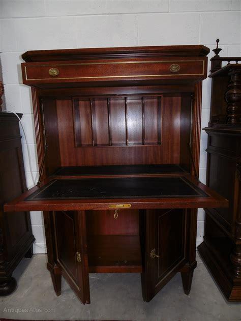 Louis Xvi Drop Front Desk Secretary  Antiques Atlas
