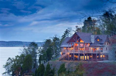 tennessee vacation log home