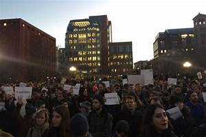 Protesters Decry Trump Immigration Orders At Rally ...