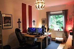 Gaming Zimmer Ideen : arbeits studier und gaming zimmer ~ Markanthonyermac.com Haus und Dekorationen
