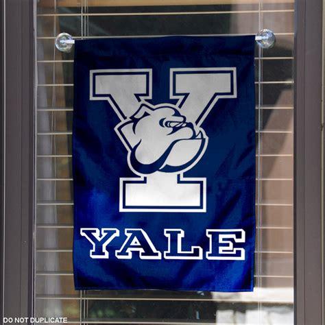 yale school colors yale garden flag yard banner ebay