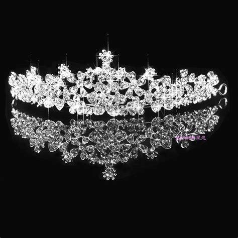 sparkling diamonds bridal crowns tiaras hair crown