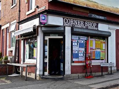 Corner Sheffield Stores Road Fronts Architecture English