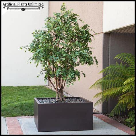 10 artificial japanese maple tree in modern fiberglass