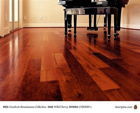 Wild Black Cherry   Solid   Wood Flooring