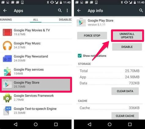 how to uninstall updates on android fix quot app could not be downloaded due to error 963 quot