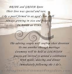 View Images Free Beach Wedding Invitation Wordings Samples
