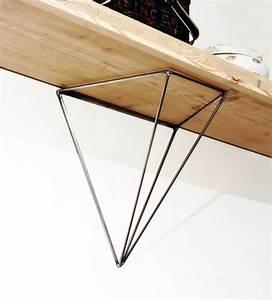 Etagere Murale Triangle : etagere murale geometrique ~ Teatrodelosmanantiales.com Idées de Décoration