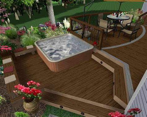 63 Hot Tub Deck Ideas Secrets Of Pro Installers & Designers. Deck Ventilation Ideas. Wall Color Ideas For Kitchen With Dark Cabinets. Birthday Ideas Teenage. Vessel Sink Bathroom Remodel Ideas. Master Bathroom Ideas On Pinterest. Backyard Renovation Ideas Cheap. Country Kitchen Ideas Australia. Mexican Decorating Ideas For Kitchen
