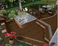 good looking spa patio design ideas 63 Hot Tub Deck Ideas: Secrets of Pro Installers & Designers