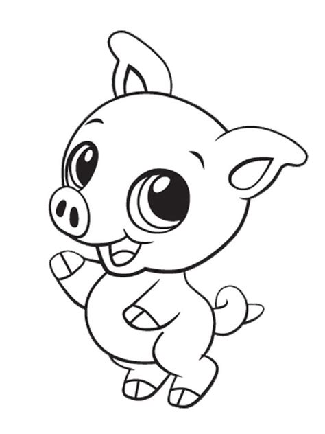 printable cute baby animal coloring pages coloring home