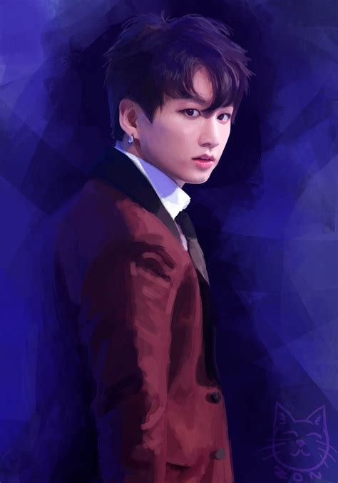 jungkook anime art jungkook by funsizedcat on deviantart