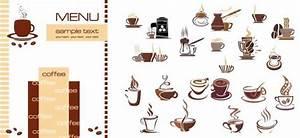 カフェ・喫茶の手作りメニューに! カップなどクリップアートいろいろ(VECTOR) - Free-Style