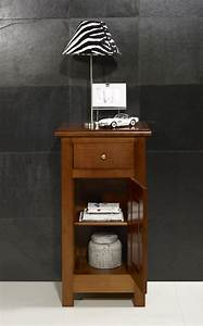 Meuble Style Campagne Chic : meuble t l phone en merisier massif de style campagne meuble en merisier massif ~ Teatrodelosmanantiales.com Idées de Décoration