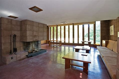 prairie style homes interior frank lloyd wright homes were designed for michigan