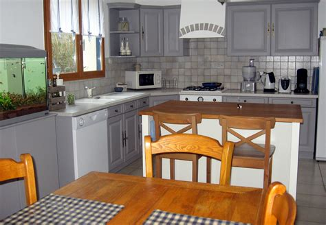 d馗o cuisine grise cuisine salle à manger repeintes photo 3 6 3502106