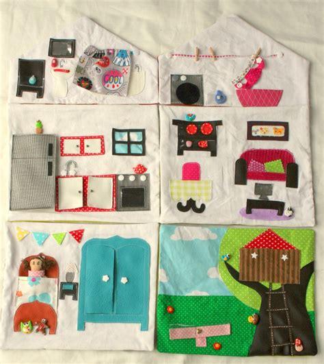 la maison des tissus ma maison de poup 233 e en tissu la maison en entier couture pour enfant jeux et bricolages