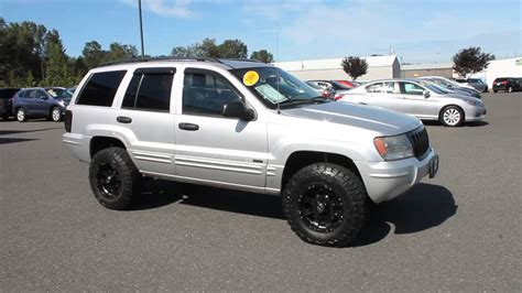 silver jeep grand cherokee 2004 2004 jeep grand cherokee silver stock b3044a walk
