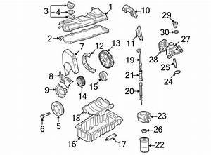 2002 Volkswagen Beetle Engine Oil Filter  Audi  Volkswagen
