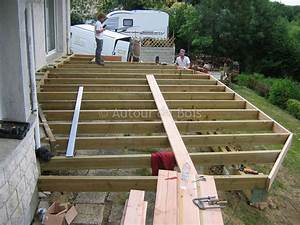 Construction assistee de votre terrasse bois sol ou for Monter sa terrasse en bois
