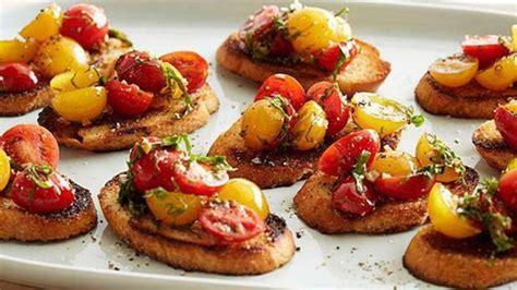 Bruschetta  Recipes  Food Network Uk