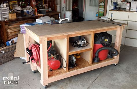 diy workbench fit   junker prodigal pieces