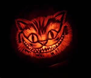 Girly Skull Pumpkin Carving Stencils by Chesire Cat Pumpkin By Noweia On Deviantart