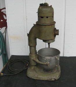 kitchenaid model  commercial mixer  bowl works
