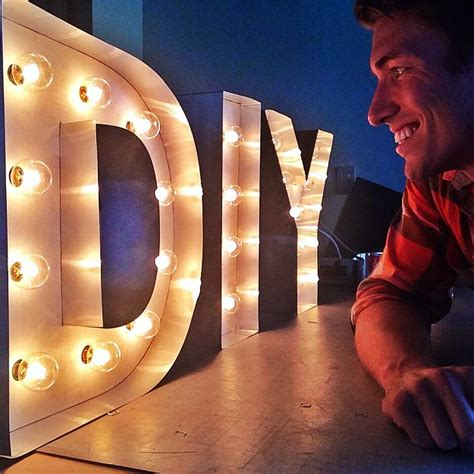 how to make diy marquee letters diy ready