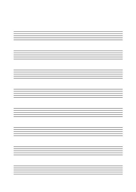 notenpapier musik fuer kinder