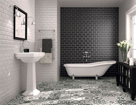 carrelage salle de bain noir et blanc carrelage salle de bain noir et blanc duo intemporel tr 232 s classe salles de bain noires